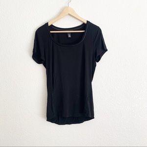 White House Black Market Scoop Neck T-Shirt